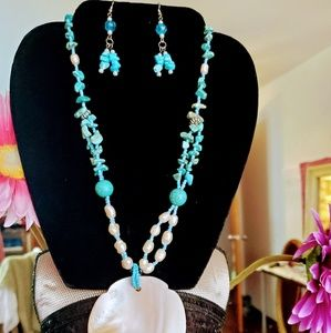 Handmade Set beautiful necklaces and earrings